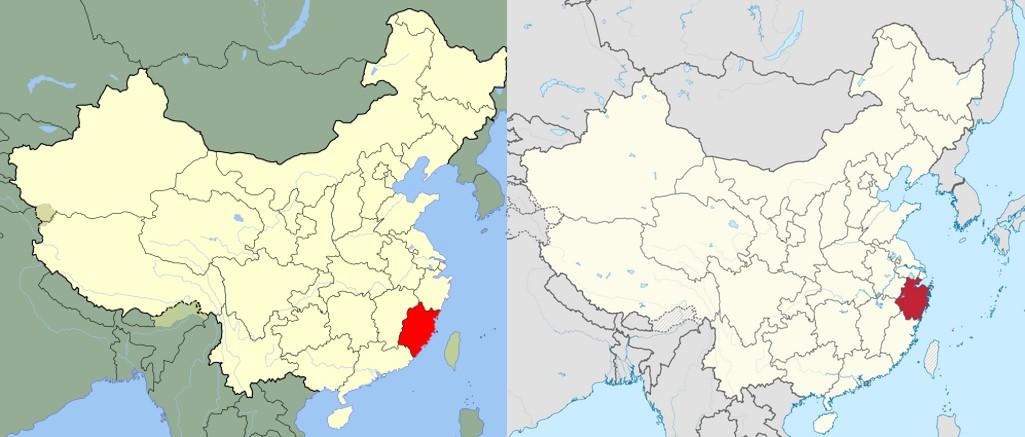 Unsere Vitalpilze werden in den Provinzen Fujian & Zhejiang angebaut